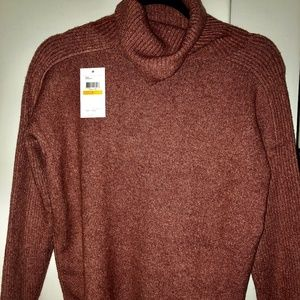 Calvin Klein Pink Turtleneck Sweater